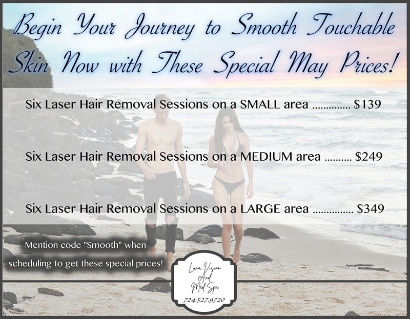 Laser Hair Removal Pittsburgh & Greensburg